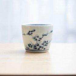 蕎麦猪口 梅紋
