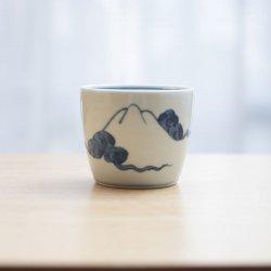 蕎麦猪口 富士山