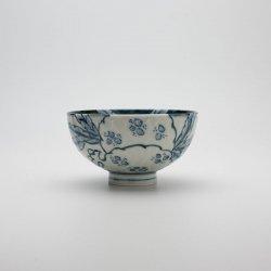 陶祥窯 古染 柘榴文 彫茶碗(小)【WEB限定発売】