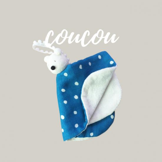 パペットハンカチの型紙【coucou】ククー