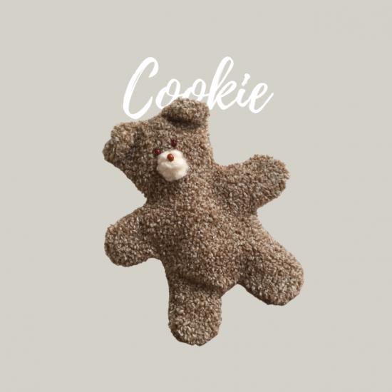 クッキーくまポーチの型紙【cookie】クッキー