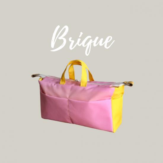 印刷版バッグインバッグの型紙【brique】ブリック