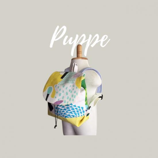 ベビーリュックの型紙【puppe】プッペ
