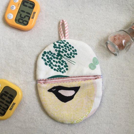 たまごポーチとミトンの型紙【meringue】メレンゲ