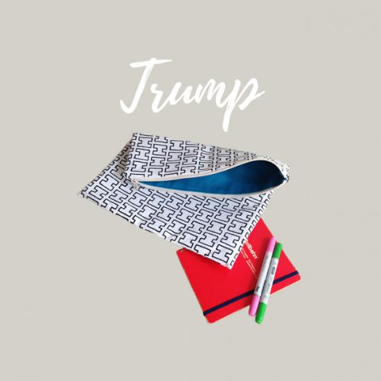 クラッチバッグの型紙【trump】トランプ
