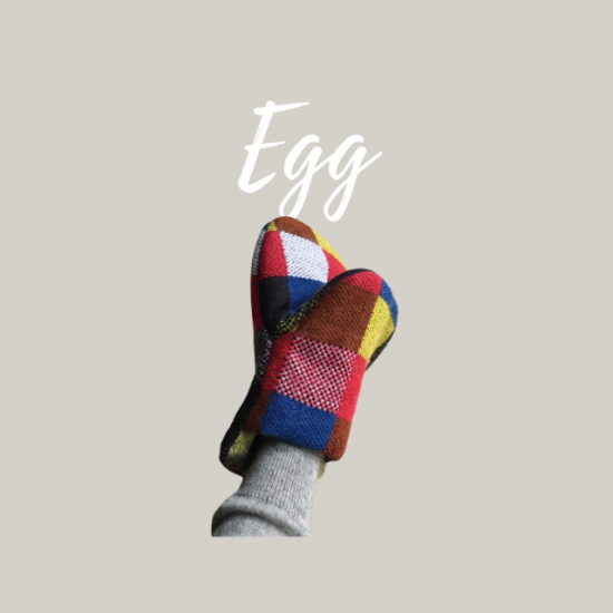 キッチンミトンの型紙【egg】エッグ