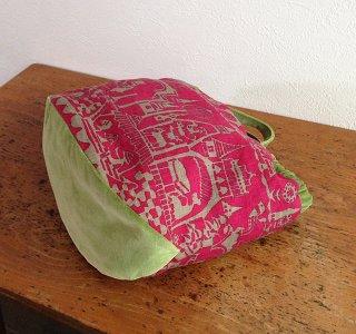 手提げバッグの型紙【fishbowl】フィッシュボウル