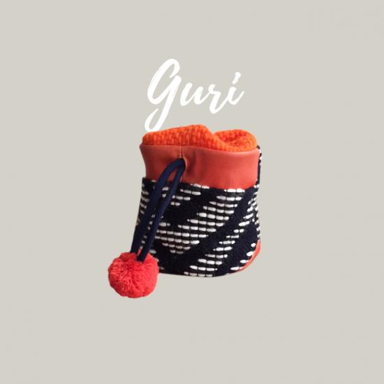 チョークバッグの型紙【guri】グリ