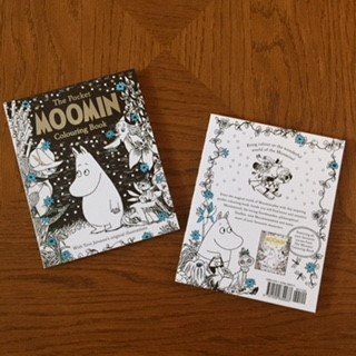 【20%OFF】ムーミン Colouring Book(塗り絵)