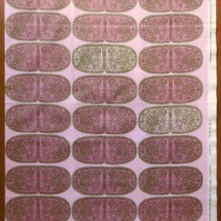 【30%OFF】marimekko生地 TANTSUピンク地×グリーン 70×50cmのカット販売