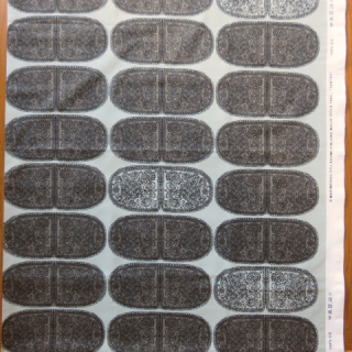 【30%OFF】marimekko生地 TANTSUグレイ地×ブラック 70×50cmのカット販売