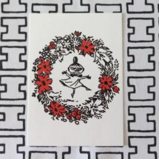ムーミン ポストカード「ミイとリース」