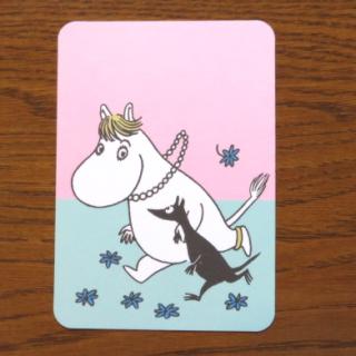 ムーミン ポストカード「フローレンとネックス」