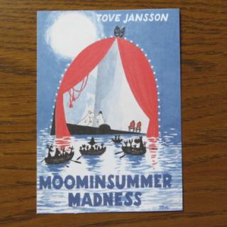 ムーミン ポストカード「MOOMIN SUMMER MADNESS」