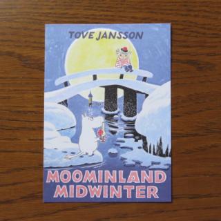ムーミン ポストカード「MOOMINLAND MIDWINTER」