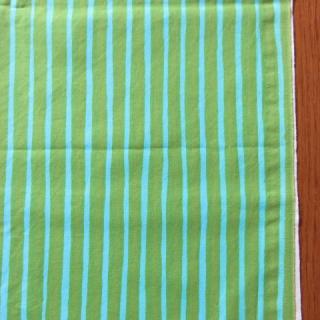 marimekkoヴィンテージ生地 PICCOLOブルー×グリーン 70×50cmのカット販売