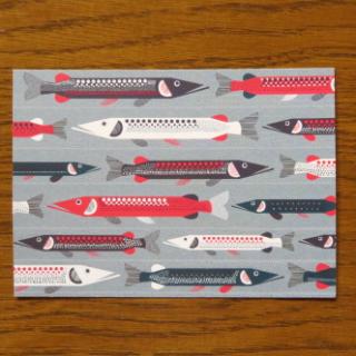 marimekko ポストカード「HAUKI」