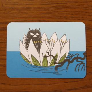 ムーミン ポストカード「スティンキー」