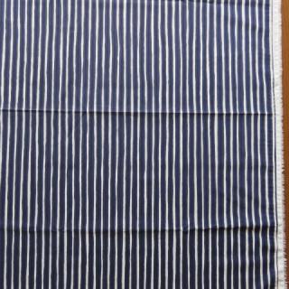 marimekko生地 PICCOLOネイビー×オフホワイト 70×50cmのカット販売