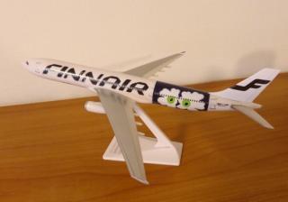 marimekko for FINNAIR フィンエアー飛行機プラモデル UNIKKO NEWデザイン