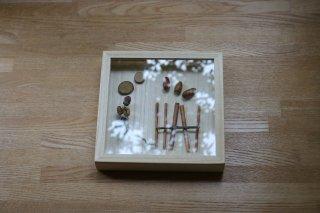 桐のコレクションケース