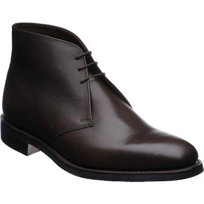 Loake Pimlico Chukka boot- Dark Brown Calf