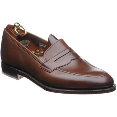 Loake Whitehall loafer- Dark Brown