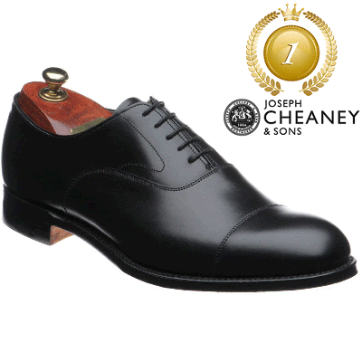 Cheaney Alfred - Black Calf