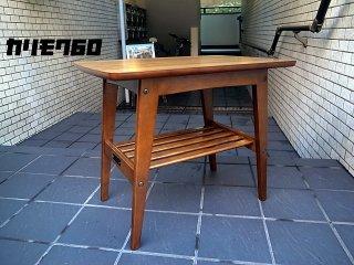 美品 カリモク60 karimoku60  ロクマル サイドテーブル コーヒーテーブル ウォールナット ■