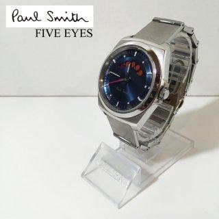 ポールスミス Poul Smith ファイブアイズ FIVE EYES リストウォッチ 腕時計 UK ◎