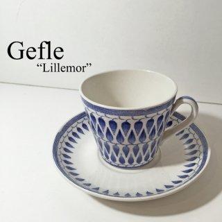 ゲフレ Gefle ウプサラエクビイ Upsala Ekeby リッレモー Lillemor カップ&ソーサー 北欧 ◎