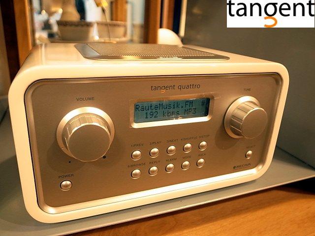 RECIVA Tangent タンジェント QUATTRO MK2 インターネットラジオ RADIO Wifi対応■