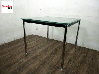 カッシーナイクスシー Cassina ixc コルビジェ LC10 ダイニングテーブル D ◎