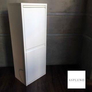 アスプルンド ASPLUND 2リサイクルビン ダストボックス ホワイト イタリア ♪