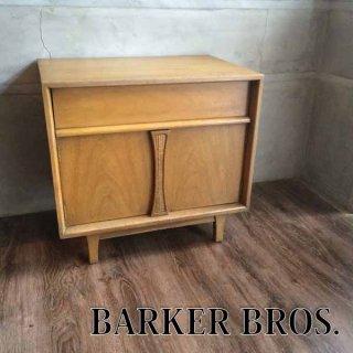 ベーカーブロス BARKER BROS  ナイトテーブル キャビネット US ビンテージ ♪