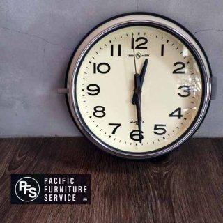 WALL CLOCK ウォールクロック / P.F.S. ( パシフィックファニチャーサービス ) 掛け時計 アイボリー ♪