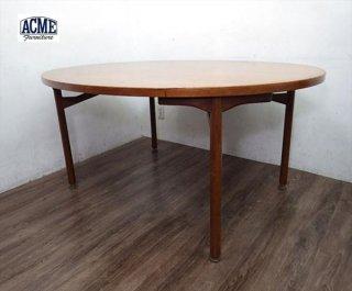 アクメ ACME取扱 USA ビンテージ オーバル型 ダイニングテーブル ●