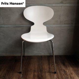 FRITZ HANSEN フリッツハンセン/ANT CHAIR アントチェア (アリンコチェア) 椅子 ホワイト A♪