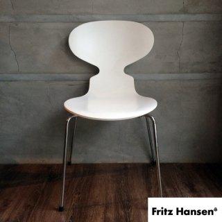 FRITZ HANSEN フリッツハンセン/ANT CHAIR アントチェア (アリンコチェア) 椅子 ホワイト B  ♪