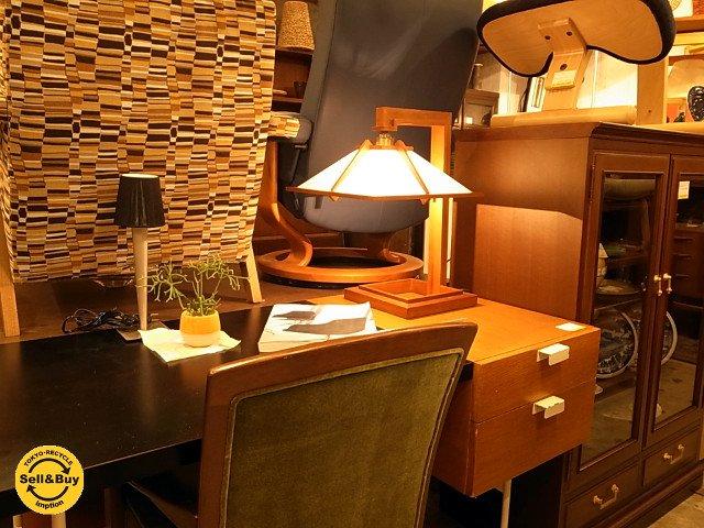 フランクロイドライト タリアセン1 テーブルランプ s2307 チェリー材 FRANK LLOYD WRIGHT ■