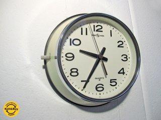 PACIFIC FURNITURE SERVICE / パシフィックファニチャーサービス × SEIKO / セイコー 別注 コラボアイテム 『 ウォールクロック ( 壁掛け時計 ) 』 アイボリー★