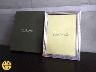 クリストフル Christofle フォトフレーム 箱-付き ♪