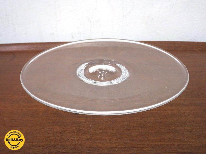 艸田正樹 ガラス皿 あたたかい雨 A ●