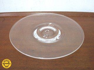 艸田正樹 ガラス皿 あたたかい雨 B ●