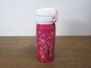 スターバックス STARBUCKS 2015年限定 サーモボトル 水筒 桜 未使用品 ◇