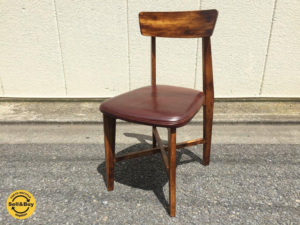 ジャーナルスタンダード journal standard Furniture シノンチェア CHINON chair レザー ブラウン a ◎