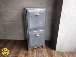 DULTON ダルトン / DOUBLE DECKER ダブルデッカー グレー 2段 収納 ゴミ箱 ダストボックス ♪