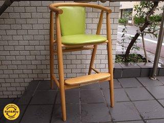 飛騨産業 キツツキマーク CRESENT クレセント ベビーチェア 子供椅子 ■