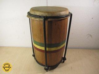 激レア ★ ジャマイカ製 ハンドメイド ビンテージ 『 ビンギドラム / ケテドラム 』 ラスタファリ