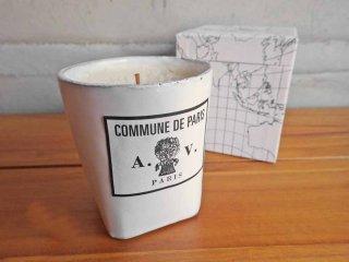Astier de Villatte アスティエ ド ヴィラット /  コミューンドゥパリ COMMUNE DE PARIS パフュームキャンドル 陶器 ♪